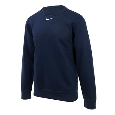 Nike Team Club Fleece Crew - Navy