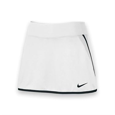 Nike Womens Team Power Skirt-White