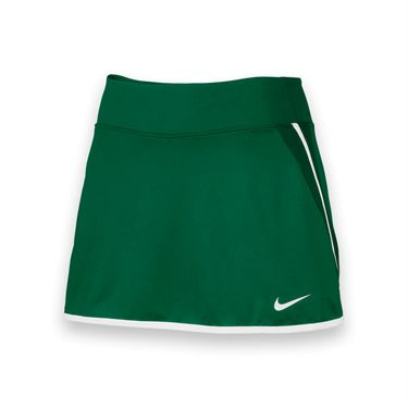 Nike Womens Team Power Skirt-Dark Green