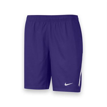 Nike Mens Team Power 9 Inch Short-Purple