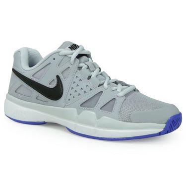 Nike Air Vapor Advantage Womens Tennis Shoe - Wolf Grey/Black/Pure Platinum/White