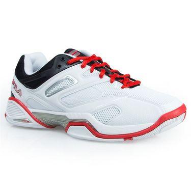 Fila Sentinel Womens Tennis Shoe - White/Black/Red
