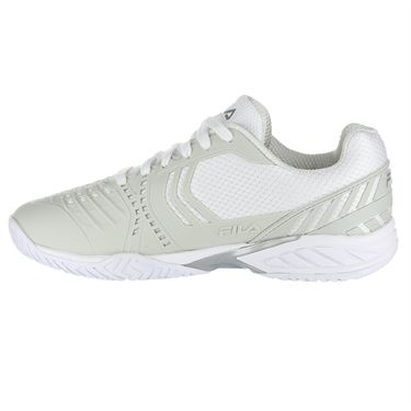Fila Axilus 2 Energized Womens Tennis Shoe - White/Sliver