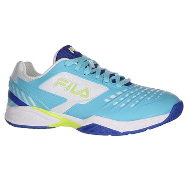 Fila Axilus 2 Energized Womens Tennis Shoe - Nautical Blue/Blue Curacao/White