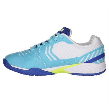 Fila Axilus 2 Energized Womens Tennis Shoe - Nautical Blue/Blue Curacao/White