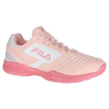 Fila Axilus 2 Energized Womens Tennis Shoe - Crystal Rose/Salmon Rose/White