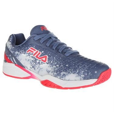 Fila Axilus 2 Energized Womens Tennis Shoe - Infinity/White/Diva Pink