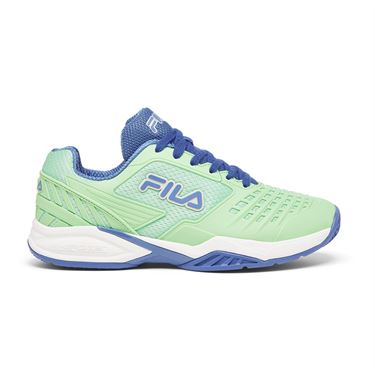 Fila Axilus 2 Energized Womens Tennis Shoe Green/Blue/White 5TM00602 325