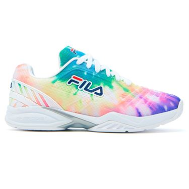 Fila Axilus Energized 2.0 Womens Tennis Shoe Tie Dye 5TM00626 781