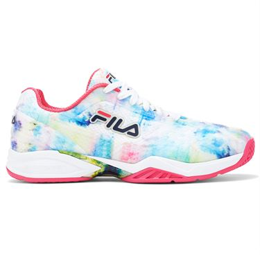 Fila Axilus 2 Energized Womens Tennis Shoe - Multi/White/Red