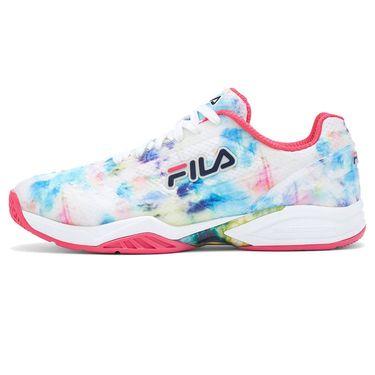 Fila Axilus 2 Energized Womens Tennis Shoe - Multi/White/Red