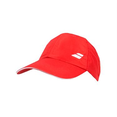 Babolat Basic Logo Cap - Fiery Red