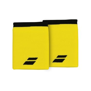 Babolat Logo Jumbo Wristband - Blazing Yellow/Black