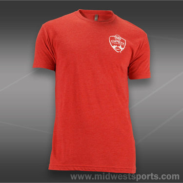 W&S 2013 ATP Left Chest Crest T-Shirt-Vibrant Pink