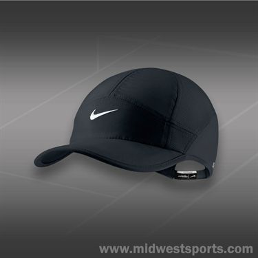 Nike Womens Feather Light 2.0 Hat-Black