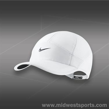 Nike Womens Feather Light Hat-White