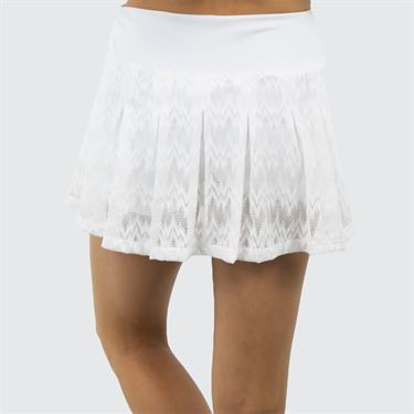 B Passionit Refresh Pleated Skirt - White