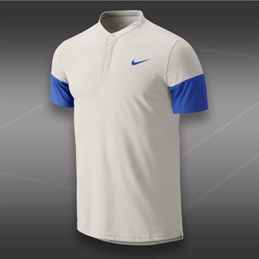 Nike Dri Fit Touch Solid Henley-Ivory