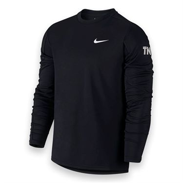 Nike Long Sleeve  Practice Crew-Black