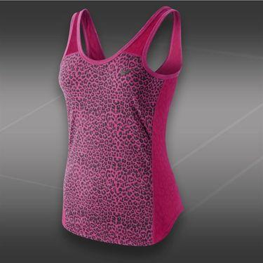 Nike Graphic Burnout Tank-Fuchsia Force