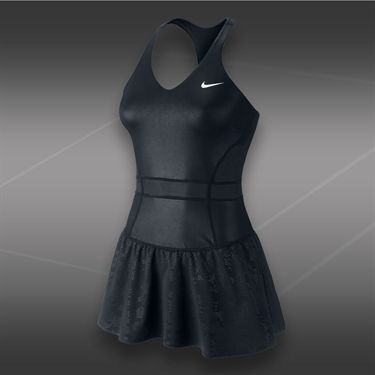 Nike Maria Night Dress-Black