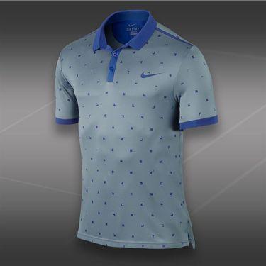 Nike Advantage Graphic Polo-Magnet Grey