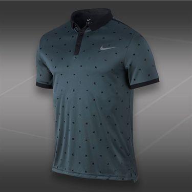 Nike Advantage Graphic Polo-Dark Magnet Grey