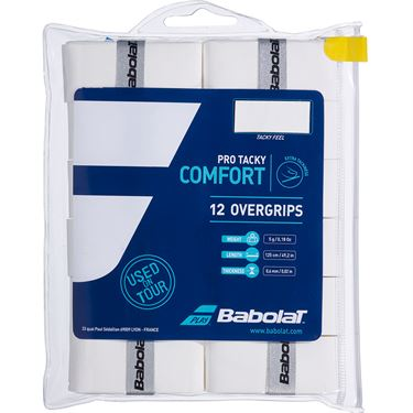 Babolat Pro Tacky Overgrip (12 Pack)