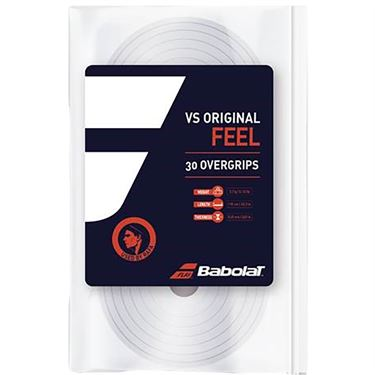 Babolat VS Original Overgrip (30 Pack) - White