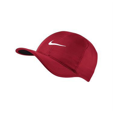 Nike Court Aerobill Feather Light Hat - Gym Red