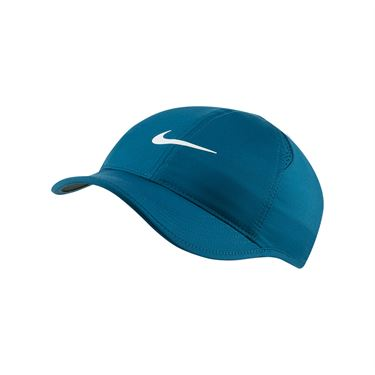 Nike Womens Court Aerobill Featherlight Hat - Valerian Blue