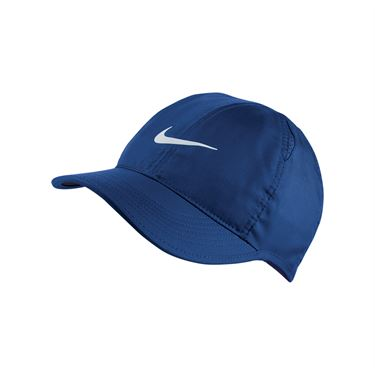 Nike Womens Court Aerobill Featherlight Hat - Indigo Force