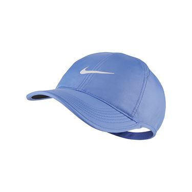 Nike Womens Court Aerobill Featherlight Hat - Royal Pulse/White