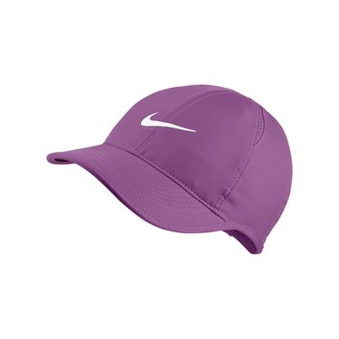 Nike Womens Court Aerobill Featherlight Hat - Purple Nebula
