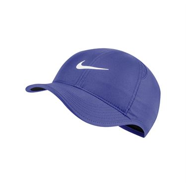 Nike Womens Court Aerobill Featherlight Hat - Rush Violet/Black/White