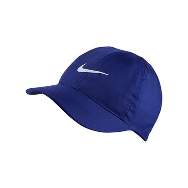 Nike Womens Court Aerobill Featherlight Hat - Regency Purple/White