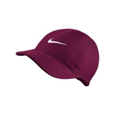 Nike Womens Court Aerobill Featherlight Hat - True Berry
