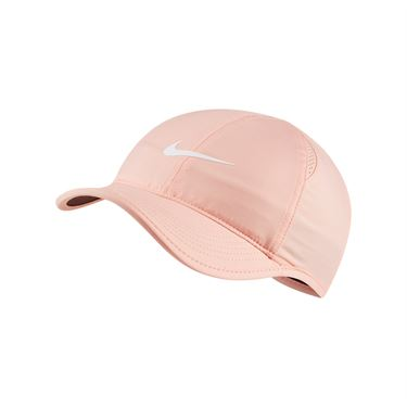 Nike Womens Court Aerobill Featherlight Hat - Washed Coral