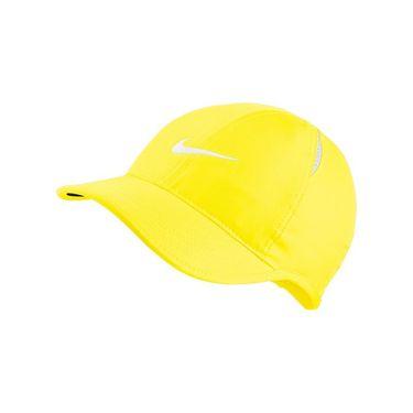 Nike Womens Court Aerobill Featherlight Hat - Opti Yellow