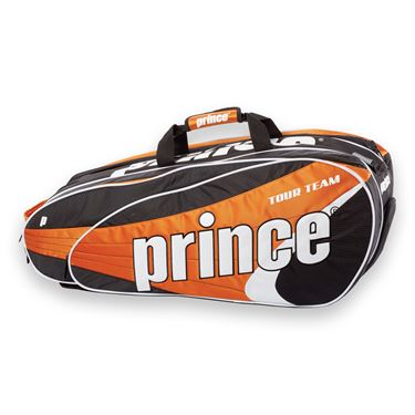 Prince Tour Team Orange 9 Pack Tennis Bag