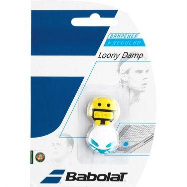 Babolat Loony Vibration Dampener -White/Yellow Face
