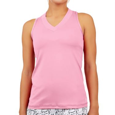 Sofibella UV Colors Racerback Tank - Bubble