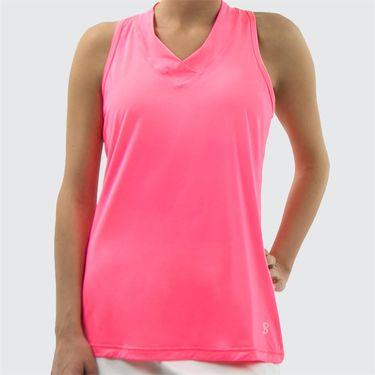 Sofibella UV Racerback Tank - Neon Pink
