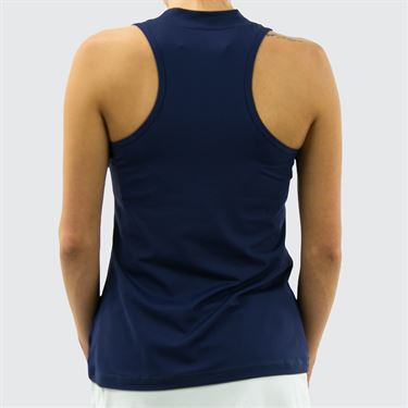 Sofibella Athletic Racer back Tank - Navy