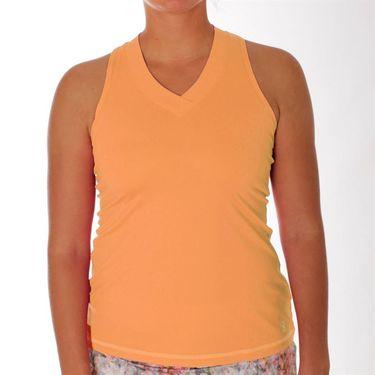 Sofibella UV Racerback Tank - Tangerine