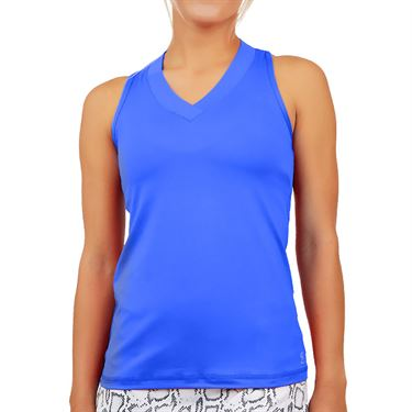 Sofibella UV Racerback Tank Womens Valley Blue 7001 VBL