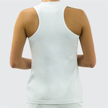 Sofibella Athletic Racer back Tank - White