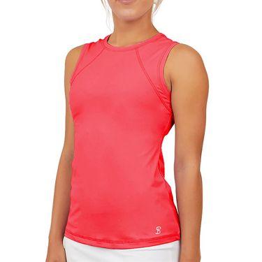 Sofibella UV Sleeveless Tank Womens Amore Print 7003 AMR