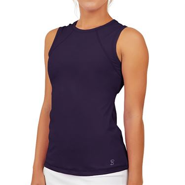 Sofibella UV Sleeveless Tank Womens Plum 7003 PLU