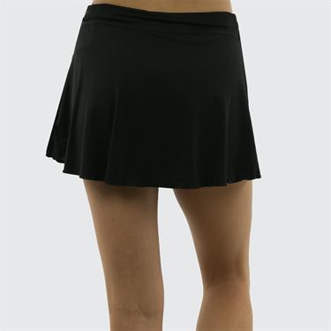 Sofibella Plus Size 13 Inch Skirt - Black